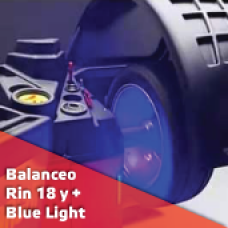Balanceo Blue Light Rin 18 y +
